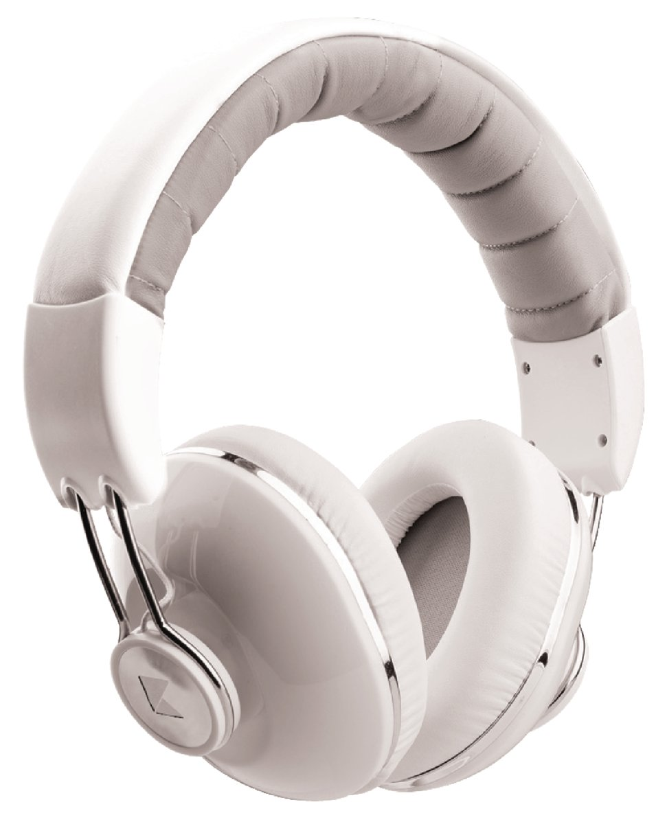 Afbeelding van Overear  Konig - Over-ear headset wit