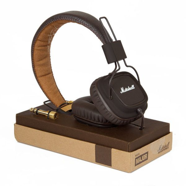 Afbeelding van Onear  Marshall Major - On-ear koptelefoon voor kinderen & volwassenen | Marshall Headphone Brown