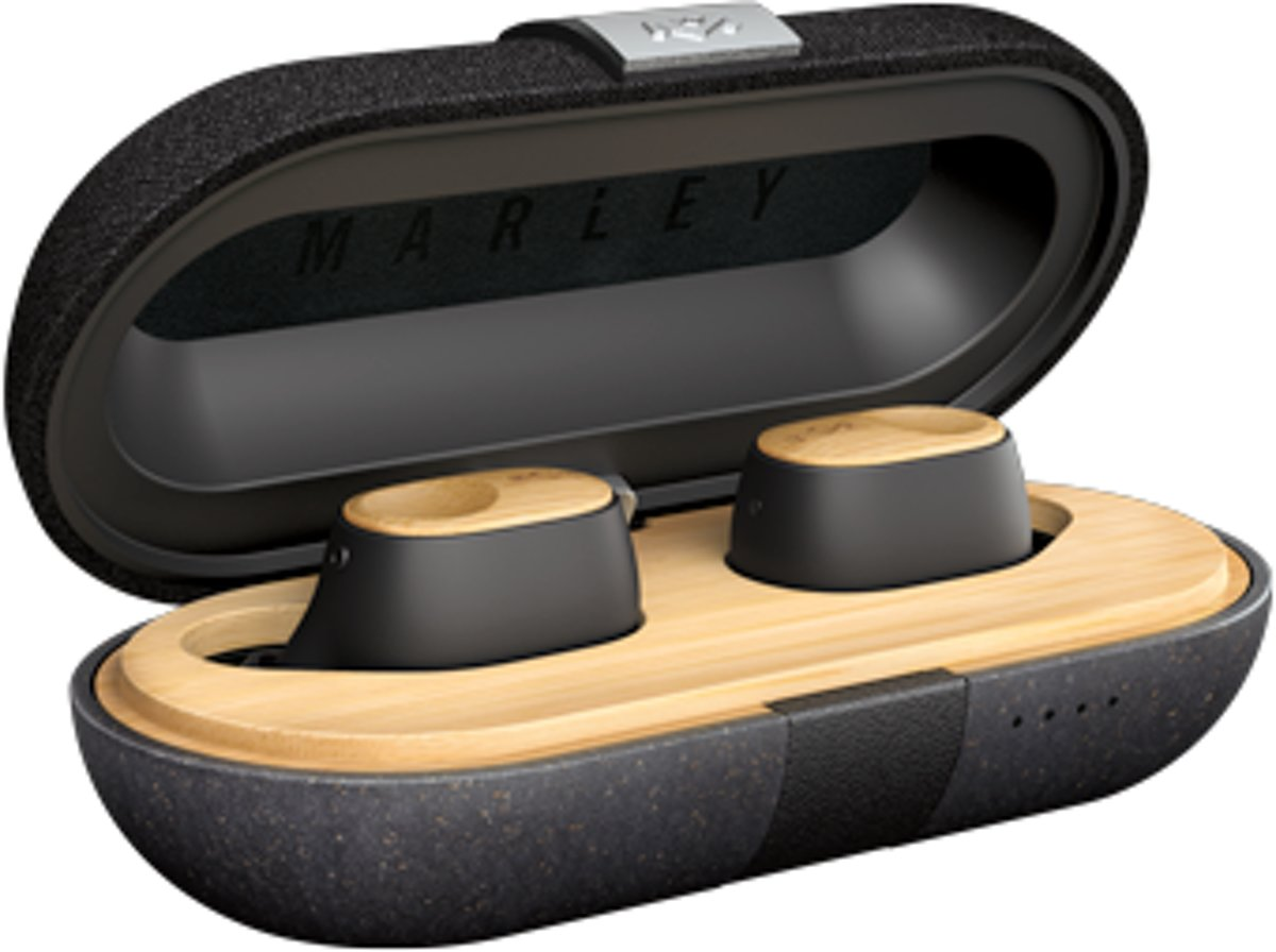 Afbeelding van Inear  House of Marley - Liberate Air - Truly wireless earbuds - Signature Black