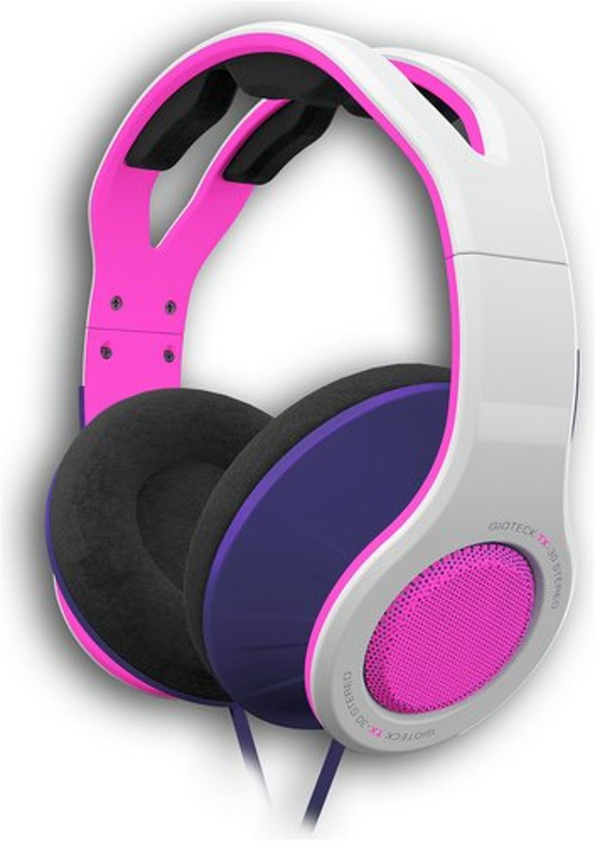 Afbeelding van Overear  Gioteck TX30 Stereo Gaming & Go Headset - Pink - Windows / MAC / PS4 / Xbox One