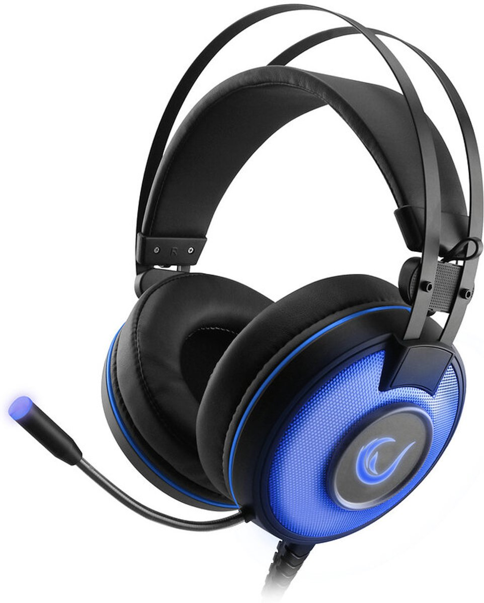 Afbeelding van Overear  Rampage Gaming Headset Alpha-X -Dolby 7.1 Surround Sound - Pc/Ps4/Xbox One - Sn-Rw66 - Blauw