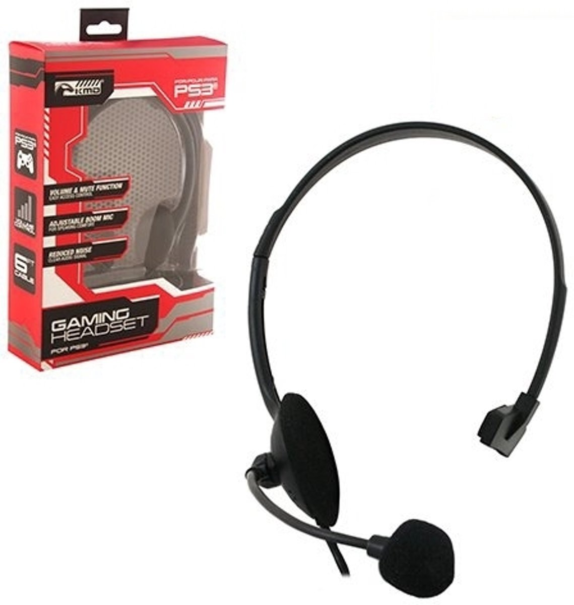 Afbeelding van Overear  Wired Gaming Chat Headset (KMD)