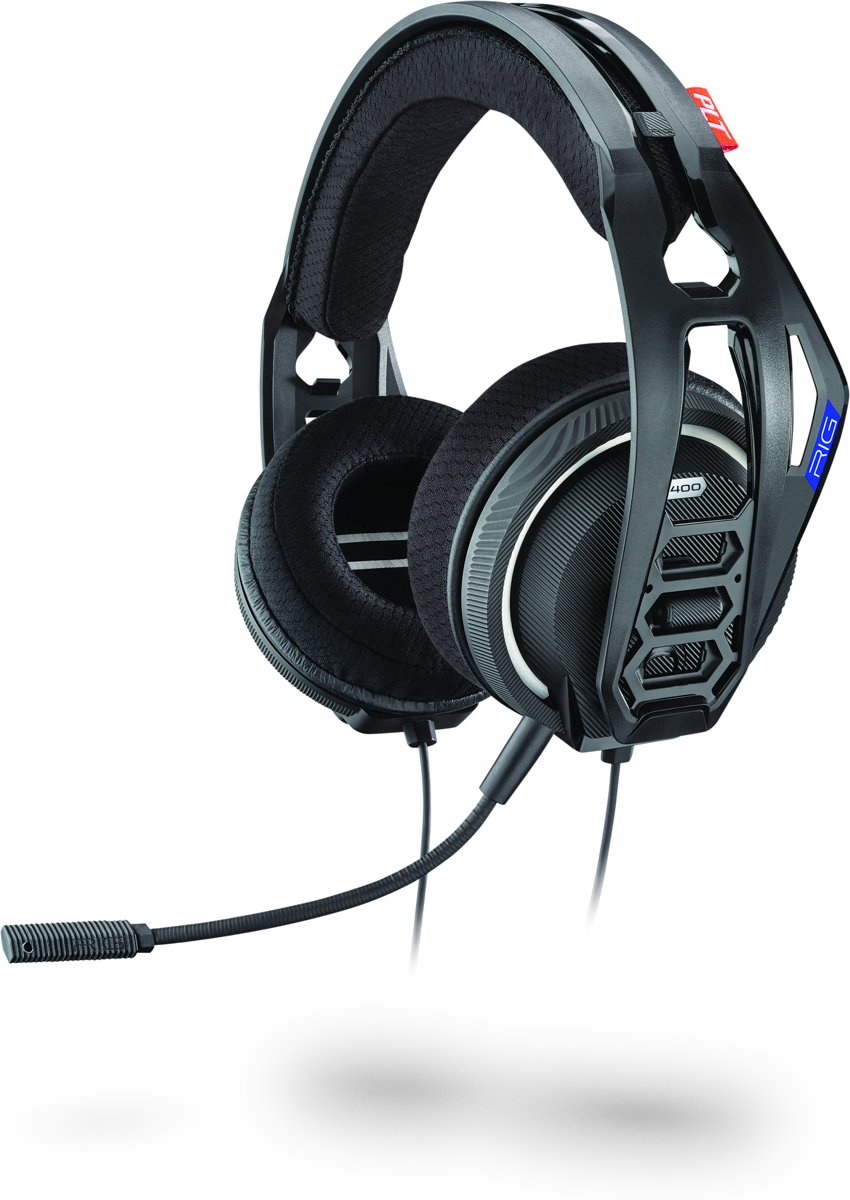 Afbeelding van Overear  Plantronics RIG 400HS - Gaming Headset - Official Licensed - PS4 - Zwart