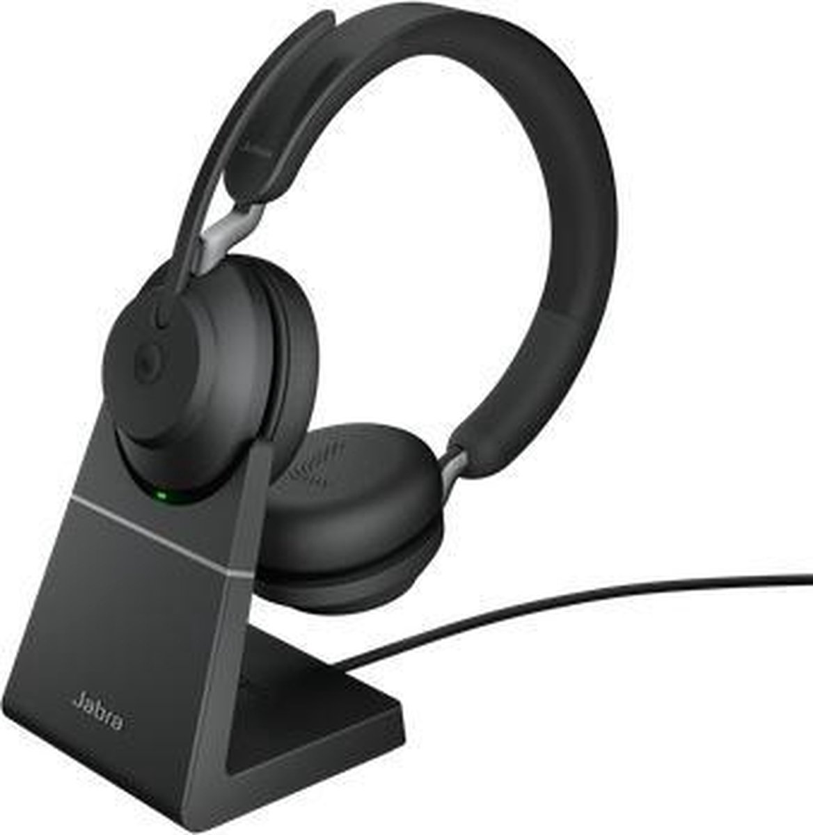 Afbeelding van Onear  Jabra Evolve2 65 MS Stereo + Stand - Bluetooth Headset - on-ear - wireless - USB-C - noise isolating